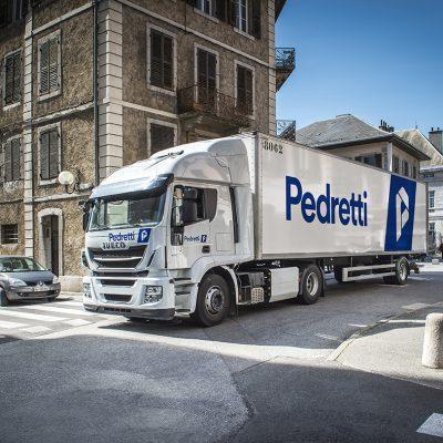 Pedretti met à la route ses premiers STRALIS d'une commande totale de 200 !